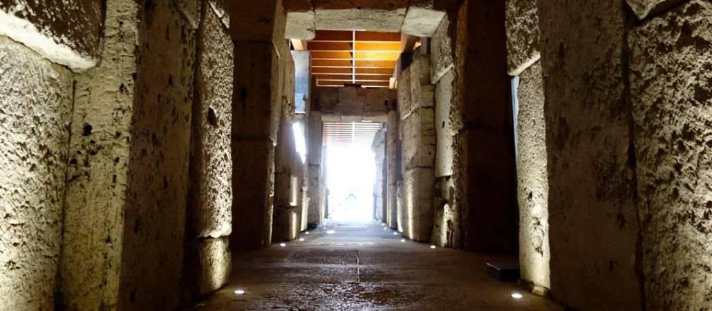 private colosseum underground tour