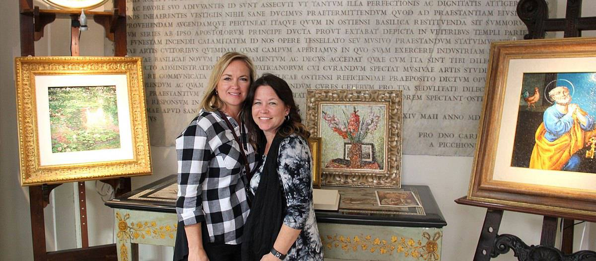 vatican mosaic studio tour
