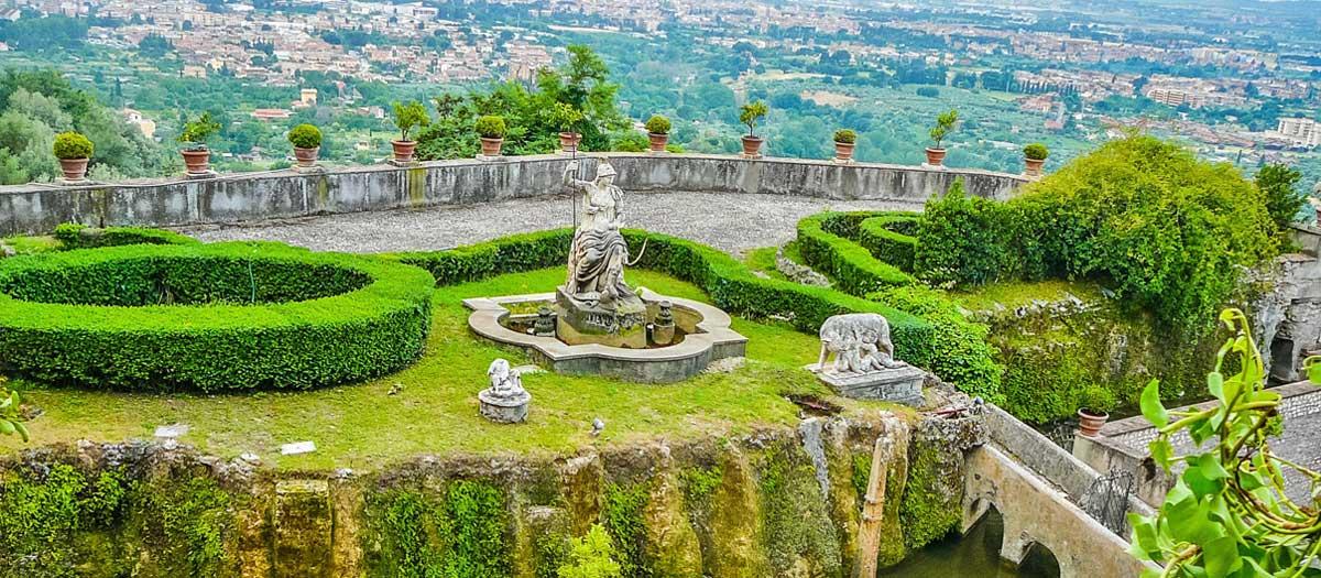 rome to tivoli gardens