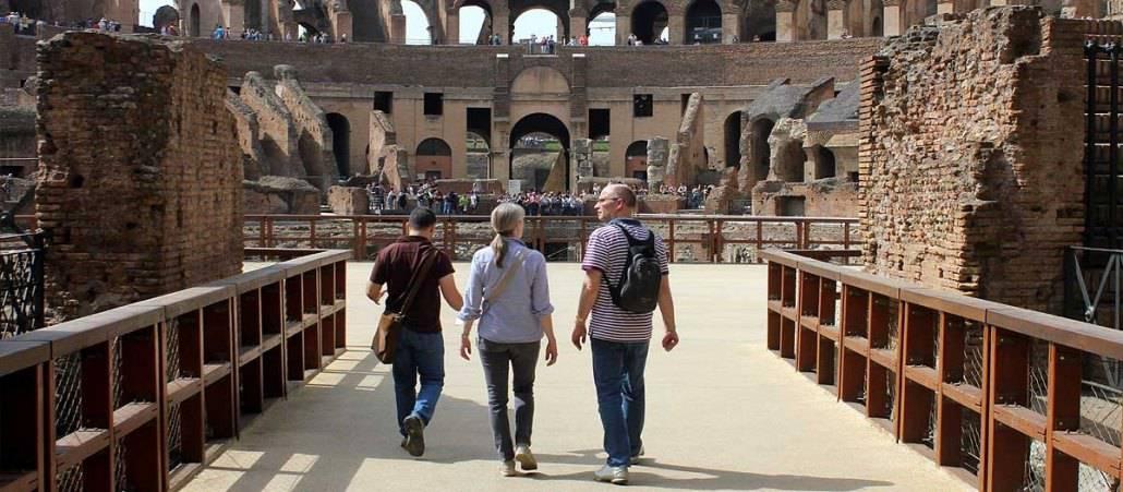 Gladiator's Gate Colosseum Arena Floor Tour