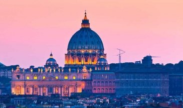 vatican by night