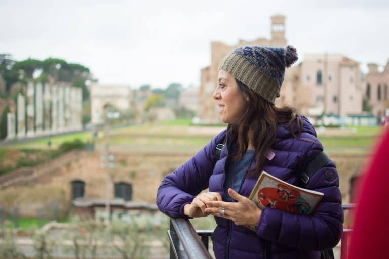 Carlotta Roman Forum