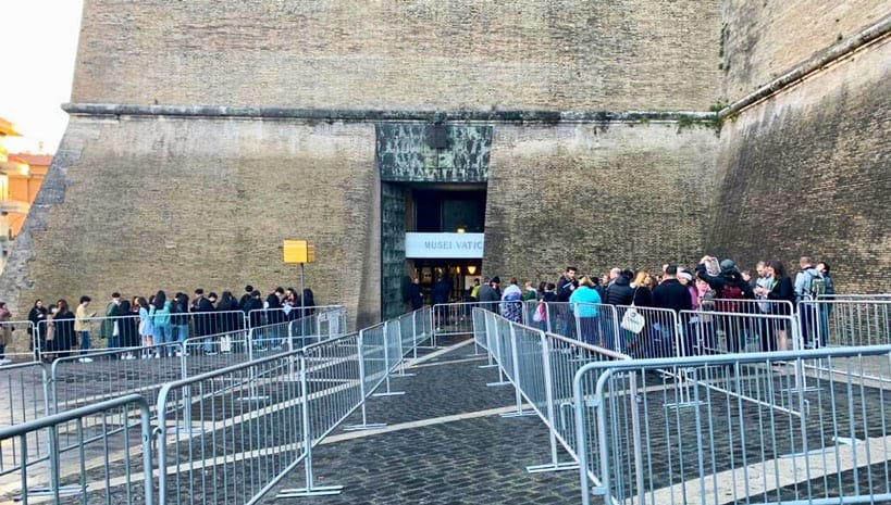 Vatican Museums Short Line